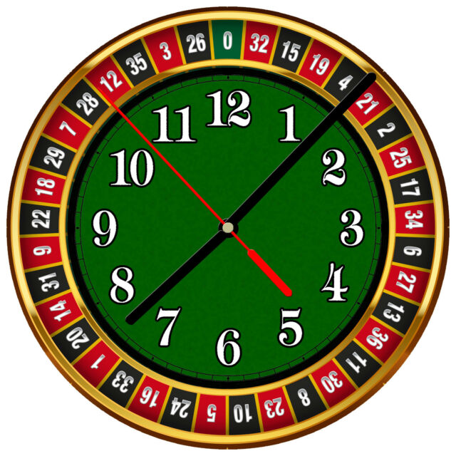 Image result for casino clocks
