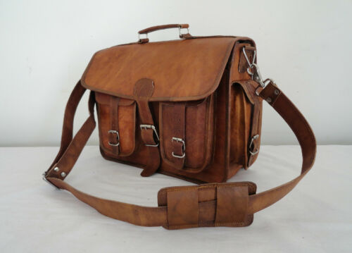 15 Bag hommes à Messenger 15 en bandoulière 6 pour 6Men's Briefcase Sac bandoulière à Sac Leather cuir dWCxBero