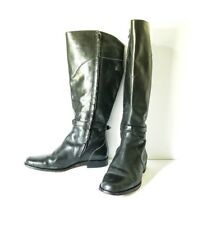 96718b06e item 4 LL BEAN Women's Tall Knee High Belted Black Leather Riding Boots  8.5W -LL BEAN Women's Tall Knee High Belted Black Leather Riding Boots 8.5W