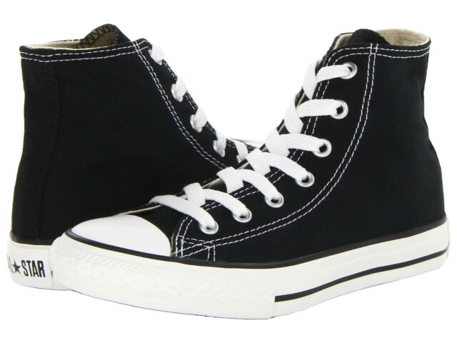 Converse Youth Chuck Taylor All Star HI Sneakers Black