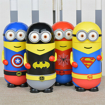 Minions Vacuum Bottles Cups Travel Office Students Funny Thermos Flask Mug 280ml