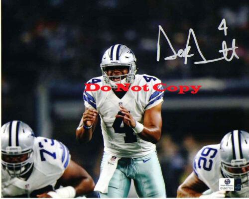 Dak Prescott Dallas Cowboys 8x10  Autographed photo Reprint