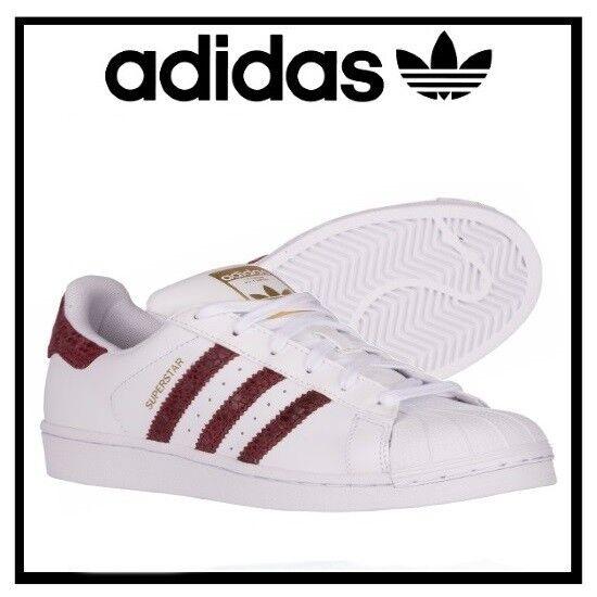 ADIDAS SOSPERTARE ORIGINALE LO scarpe  da ginnastica DONNE SHOO BIANCO  BURGUNDY S79417 SZ 11 NUOVO  risparmiare sulla liquidazione