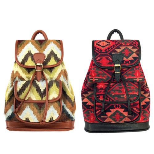 KILIM Woven Backpack