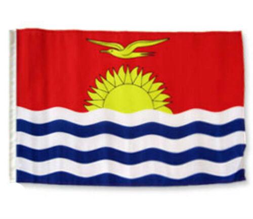 """12x18 12/""""x18/"""" Kiribati Sleeve Flag Boat Car Garden"""