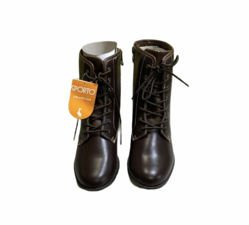 Women/'s Sporto Leather Boots size 6.5