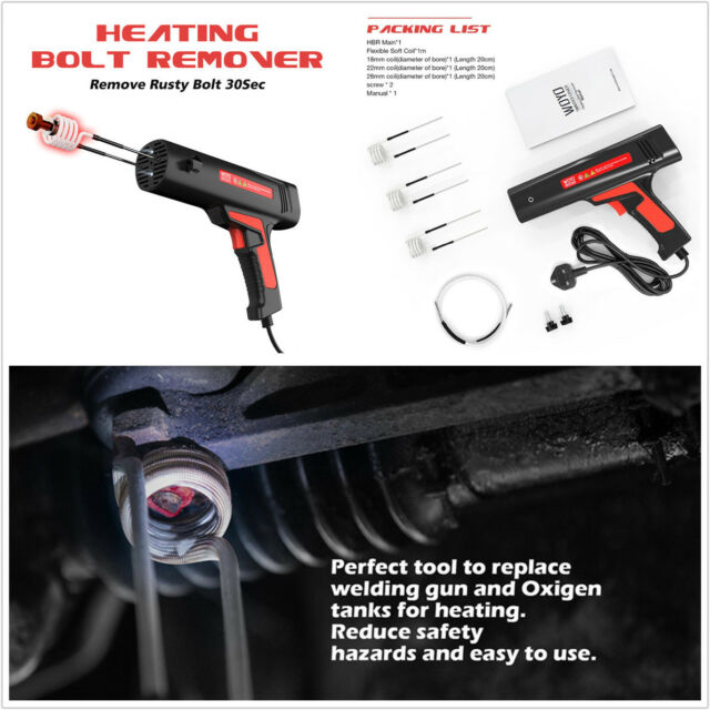 Bolt Removal Tool Induction Heating