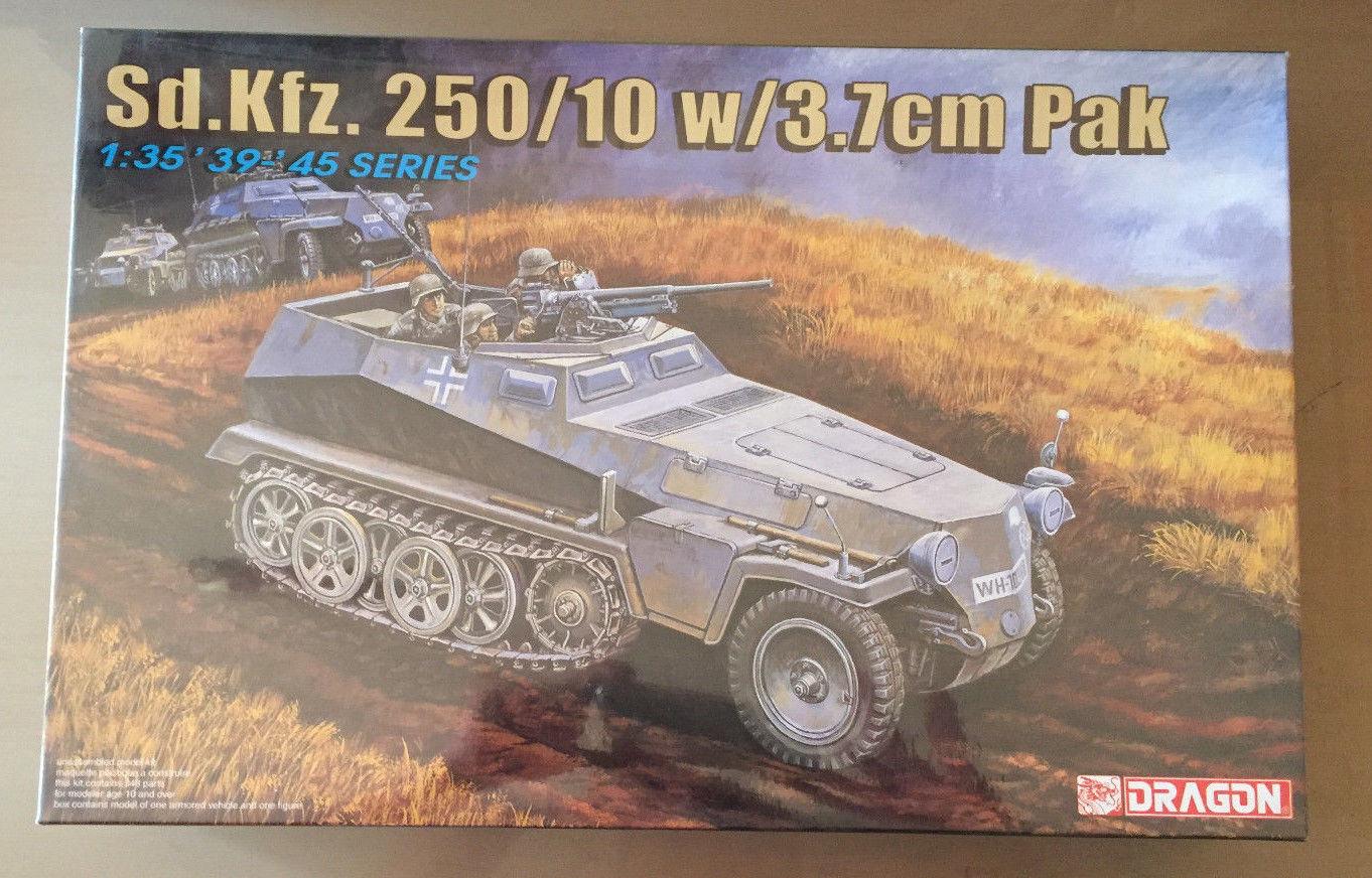 Dragon 6139-sd.kfz.250 10 w 3.7cm Pak - 1 35 Plastic Kit