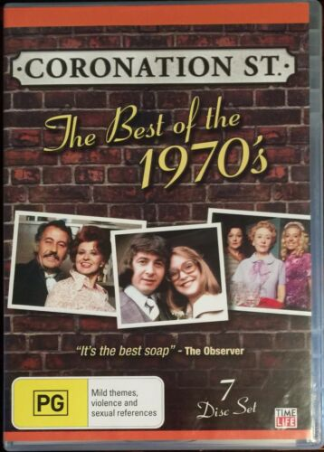 1 of 1 - Coronation Street - The Best of the 1970's (DVD, 2009, 7-Disc Set)  BRAND NEW