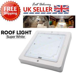 10W-Interior-LED-Roof-Light-White-for-Motorhome-Caravan-Camper-Van-Boat-12-24V