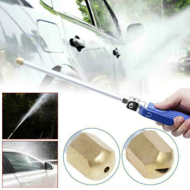 Garden Car Washer Spray Gun Power High Pressure Water Lance Hose Pipe Nozzle Jet