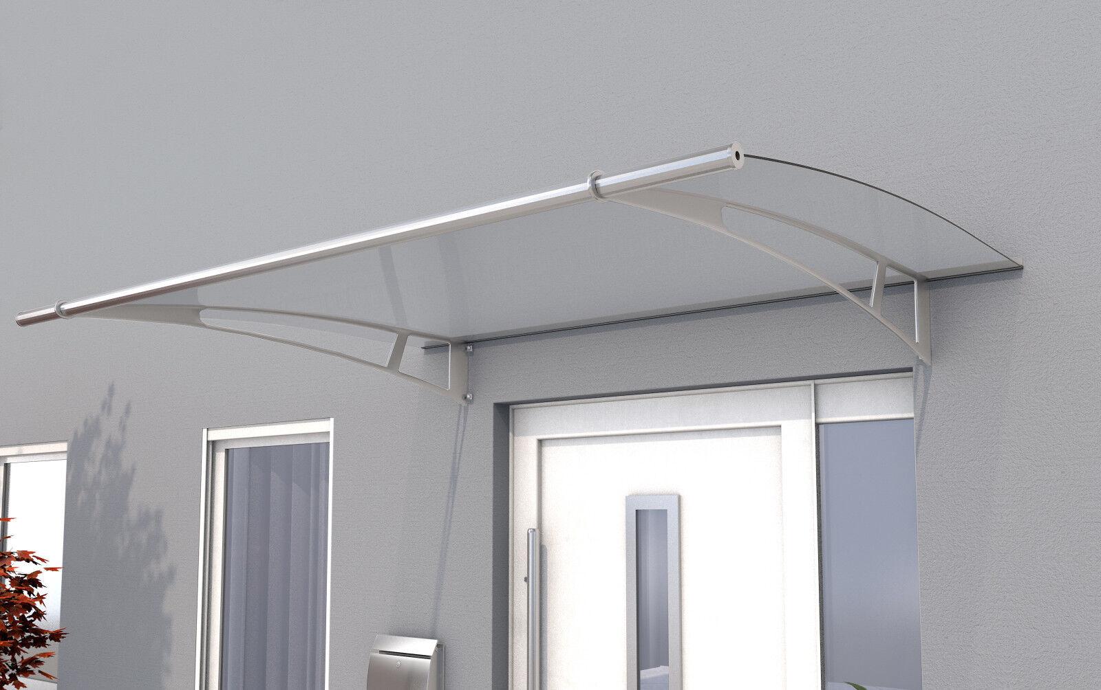 Gutta Pultvordach PT/XL 205 klar - Haustürvordach 205 x 142 cm mit Acrylglas