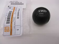 TOPLEXUS OEM FACTORY TRD LEATHER SHIFT KNOB 2002-2005 IS300 MANUAL TRANSMISSION