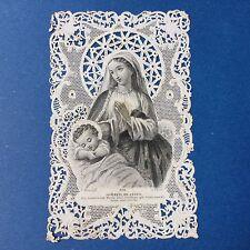 CANIVET Wentzel n°378 Image Pieuse HOLY CARD 19thC Santino