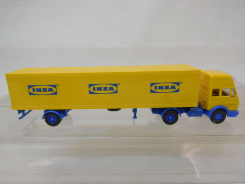 eso-1372 Wiking 1:87 Mercedes Sattelzug IKEA sehr guter Zustand