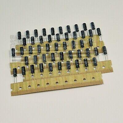 SOTTOCOSTO 50pz Condensatori elettrolitici 0,47uF 63V 85° SQ84 ART