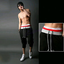 Sale Baggy Jogger Casual Trousers Shorts Men Sports Pants Harem Cotton Blend