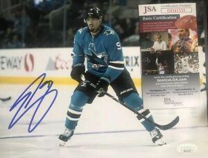Evander Kane SIGNED San Jose Sharks JSA 8x10 PHOTOGRAPH | eBay