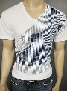 9c8c4978 NWT 100% Genuine Armani Exchange A/X men's muscle fit Crew v-neck t ...