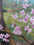 thumbnail 7 - Original Peach Blossom Painting Large Framed Signed CA San Joaquin Valley Art