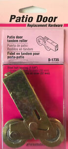 Prime Line Patio Door Tandem Roller Assembly W Steel Ball Bearing