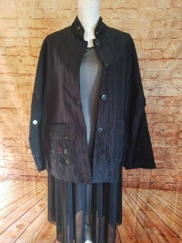 Staley Gretzinger Jacket Art to Wear Lagenlook Ecl