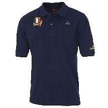 0351 FIR POLO ITALIA TG S FEDERAZIONE ITALIANA RUGBY ITALY COTTON SHIRT JERSEY