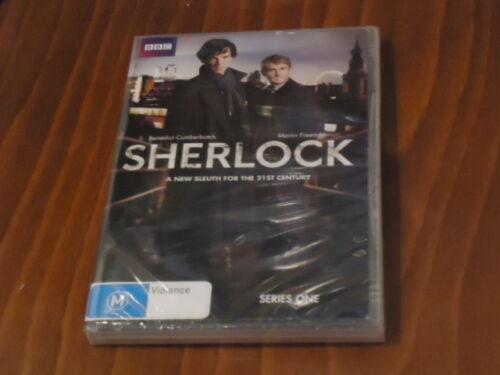1 of 1 - DVD Sherlock Complete Series 1 (Brand New Sealed)