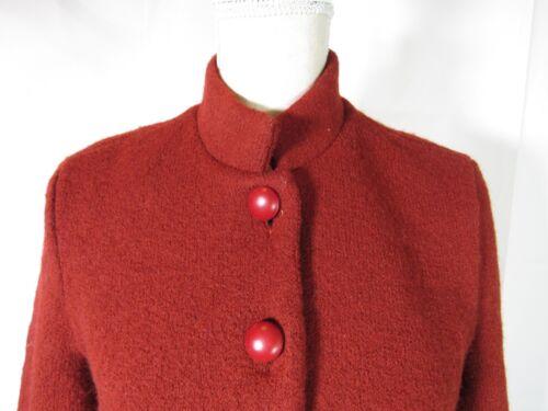 rose Manteau taille tartan rouille grande EqxwAqC