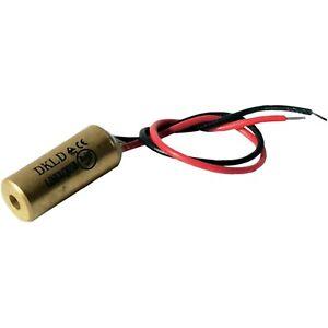 Laserfuchs 70103984 Rouge Laser De Classe 2 10 M 1 Mw 3-12vdc 25 Ma 650 Presque Comme Neuf Longueur D'onde-afficher Le Titre D'origine Haute Qualité