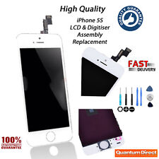 WHITE Replacement LCD & Digitiser Touch Screen Assembly Repair FOR iPhone 5S