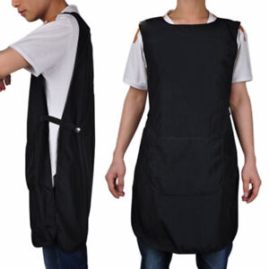 Salon-Hairdressing-Hair-Cutting-Apron-Front-Back-Cape-Cloth-Barber-Hairstylist
