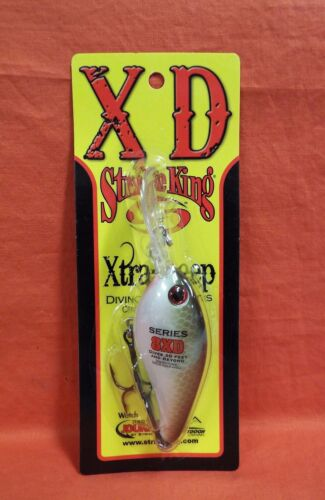 STRIKE KING 8XD Series Xtra Deep Diving Crankbait #HC8XD-MM4 Copper Nose Shad