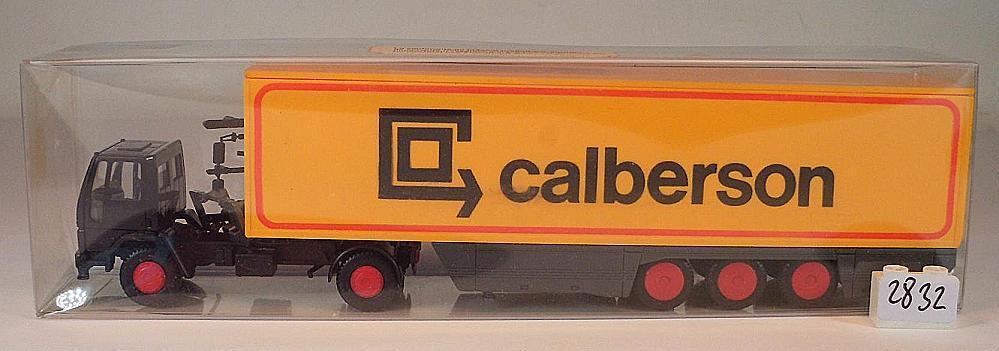 Rietze 1 87 Nº Somo FORD CARGO SEMI-REMORQUE valise CALBERSON Imp. Märklin ovp 2832