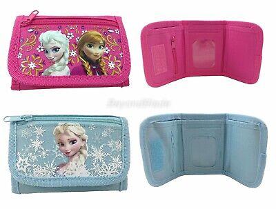 Disney Frozen Portafogli Set Di 2 Ragazze Bambini Fumetto Per Portamonete Moda Attraente