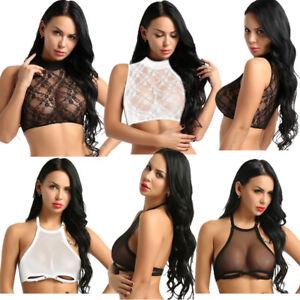 Women-Sheer-Mesh-Lace-Crop-Top-Shirt-Sleeveless-Tank-Tops-Vest-Casual-Tee-Blouse