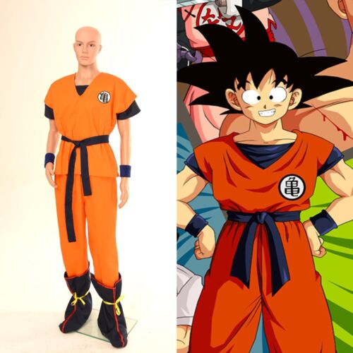 Dragonball Z Son Goku Kurrin Yamcha Turtle Cosplay Costume Type A Full Set