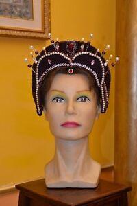 Copricapo-femminile-Cappello-Storico-XV-secolo-cod-H24