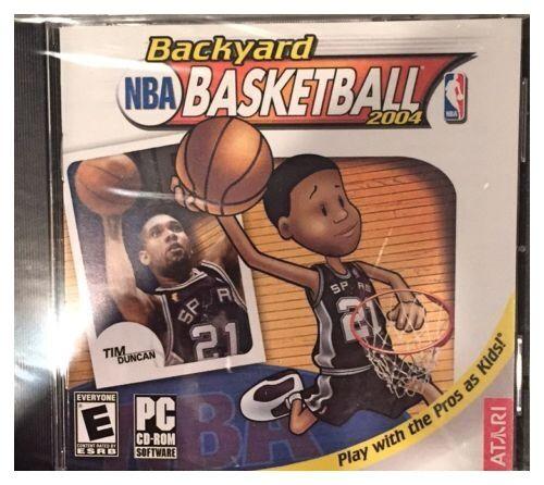 Atari NBA Backyard Basketball 2004 PC Cd Rom | EBay
