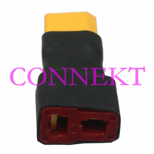 T-Plug Deans Female to XT30 Male No wire Adapter Connector for R//C model