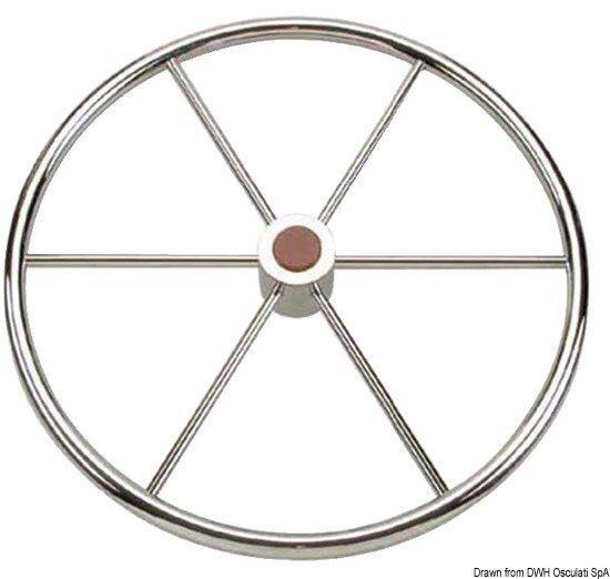 Ruder Rad inox 45.164.75 5r azze 700 mm Marke Osculati 45.164.75 inox b08980
