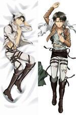 "59/"" Anime Dakimakura NO GAME NO LIFE Shiro Anime Hug Body Pillow cover case105cm"