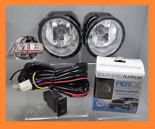 Fits Nissan Frontier Xterra Maxima Sentra Clear Fog Lights Pair Wiring PERDE H3