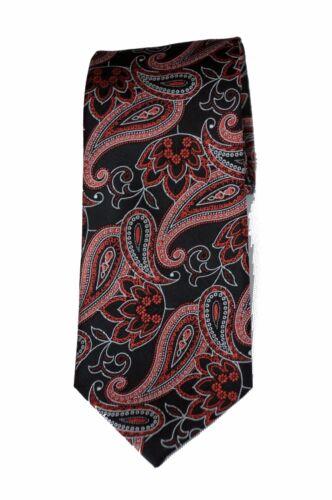 Lord R Colton Studio Tie Black /& Copper Paisley Woven Necktie $95 New
