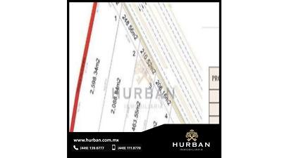 HURBAN VENDE terreno comercial cerca de las Plazas.