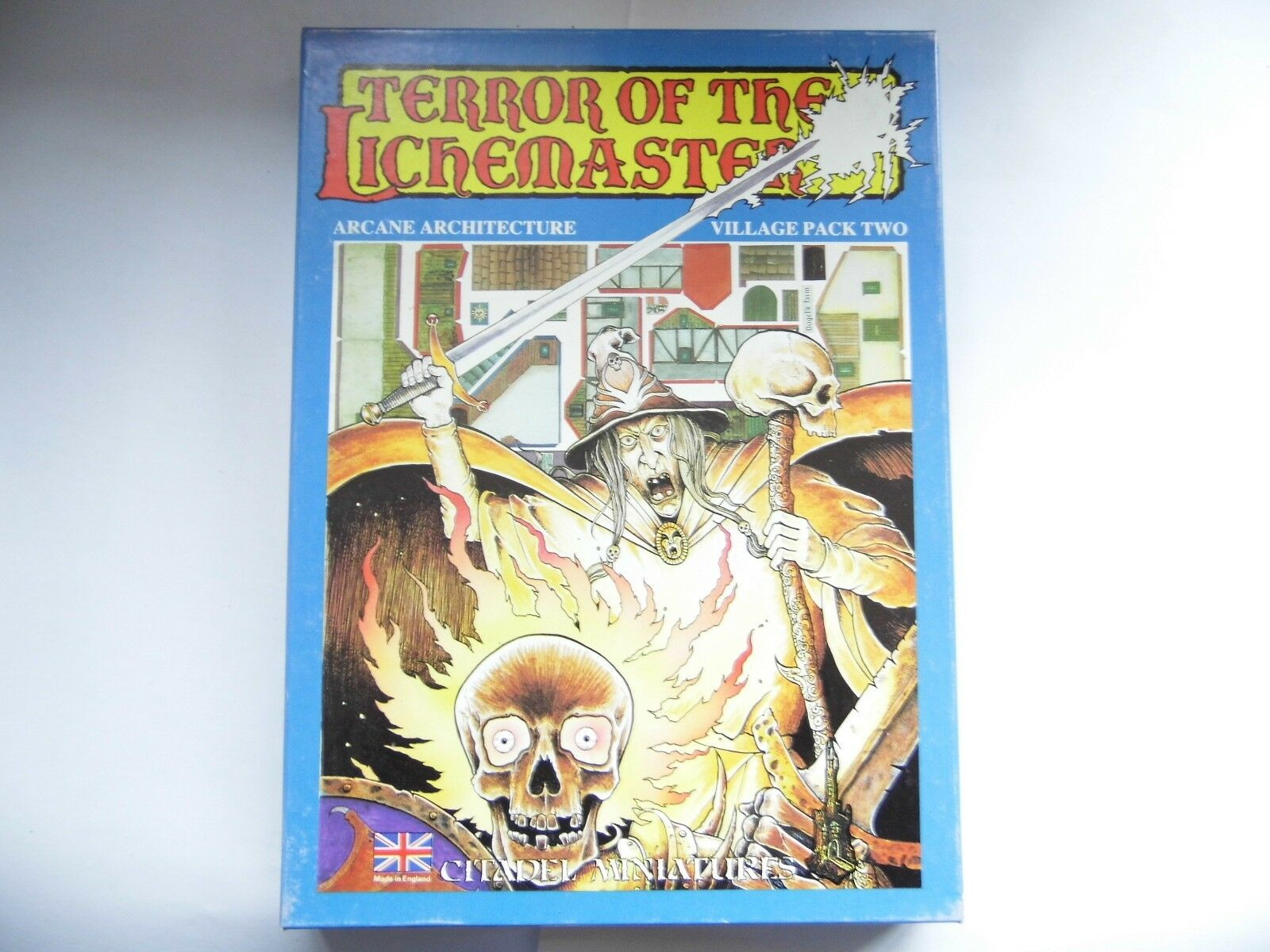 Terror of the lichemaster - Warhammer Games Workshop - Joe Muselière largeur