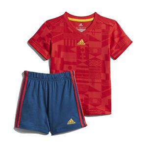 4baf4a78519fa La imagen se está cargando Adidas-Spain-WORLD-CUP-Conjunto-Verano-Futbol-De-