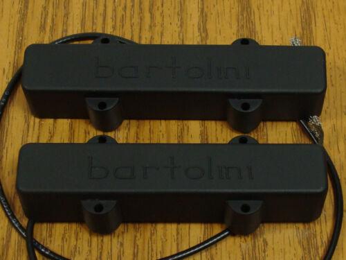 NEW Bartolini 57J1 5 String Jazz Bass PICKUP SET for Fender Jazz Bass Pickups