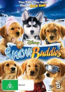 Snow-Buddies-DVD-Region-4-New-Sealed