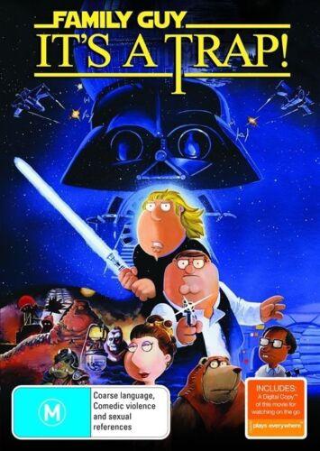 1 of 1 - Family Guy - It's A Trap (DVD, 2010, 2-Disc Set)